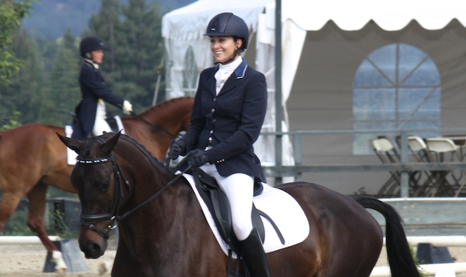 Frankie and Chat May Woodside Dressage